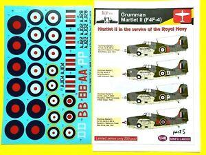 ŘOP Decals  1/48 Grumman Martlet II