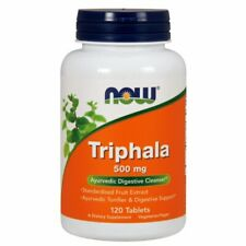 Triphala 120 Tabs 500 mg by Now Foods