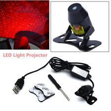 8V-36V Car LED Romantic Decoration Light Inside Rooftop Ceiling Projector Lamp