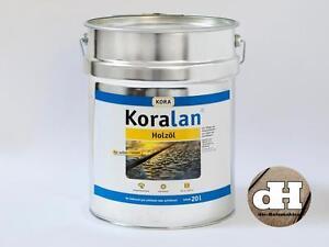 UV-Natur Öl, Holzöl, Holzpflegeöl, Koralan Holzschutz Öl 20 Liter, 11,90 € / l