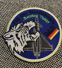 Bavarian Tigers Patch Luftwaffe TLG74 Aufnäher Bundeswehr Tigermeet Klett NEU
