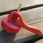 Wooden Spinning Tops Funny Painted Gyro Peg-top Toy For Kids Educational Toys MP