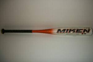 "Miken MBHSR10 Heat 30"" 21oz 2 5/8"" DFR 180 -10 Senior League Baseball Bat 30/21"