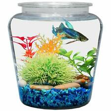 Koller Products 1-Gallon Fish Bowl Aquariums  Tanks 7.25 DIA x 8 H Inches