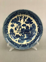 vintage blue willow china bowl made in occupied Japan 1945 - 1952