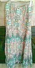 Macy's LG Mythical Jungle Paisley Tango Broom Skirt NWT Style & Co