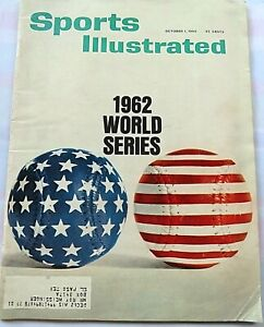 Vintage Sports Illustrated Magazine 10/1/1962 ~ 1962 World Series Preview