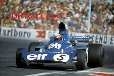 Jackie Stewart Tyrell 006 French Grand Prix 1973 Photograph 1