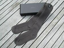 BNIB RICK OWENS Grey Snap Button Socks RRP £158