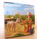 Playmobil Cuidadora de animales con Alpaca 4944 NUEVO Y EMB. orig. Pascua ZOO