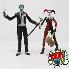 Loose HARLEY QUINN & JOKER DC Universe Mad Love Figure 2-pack 2010