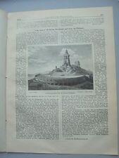 1892 19 Kyffhäuser Denkmal Grunewald Berlin Villenkolonie Schönrohr Rampitz