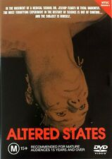 Altered States (1980) DVD-William Hurt-Blair Brown-Bob Balaban-Charles Haid-OOP