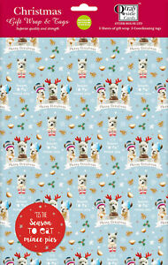 Christmas Wrap & Tags - Llama Fun