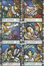 Nieuw-Zeeland 1549A-1554A (compleet.Kwestie.) gestempeld 1996 Kerstmis