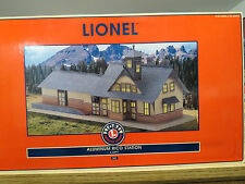 Lionel Very Rare Aluminum Tinplate Rico Station From 2000 , 6-32997 , New C-9