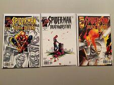 Spider-Man Death and Destiny Set #1-3 8.0 VF (2000)
