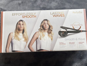 BaByliss Smooth and Wave Secret Lasting Soft Curls  Swivel Cord New Boxed Uk