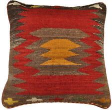 Kelim Sitzkissen Bodenkissen 60 x 60 cm aus persischen Kelim inkl. Füllung