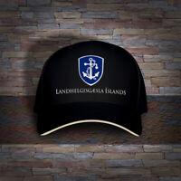 Gæslan Iceland Coast Guard Defense Force Military Embro Cap Hat