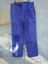 ancien pantalon  moleskine bleue LAFONT