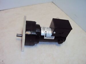 Bison 011-190-4025 Gearmotor 24VDC 1/20-HP 71-RPM 25:1 Red 40 In Lbs Torque