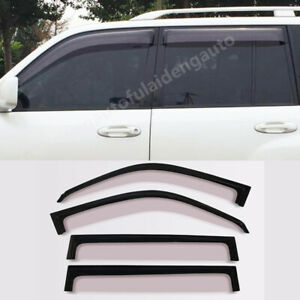 For Lexus LX470 1998-07 Sun Deflectors Side Window Rain Visors Vent Shade Visor