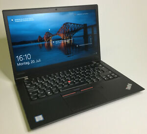 "Ultrabook Lenovo THINKPAD T470s 6300U-2x3,0GHz 14 "" FHD 16GB-RAM 256SSD"