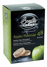 NEW Bradley Apple Bisquettes 48 pack FREE SHIPPING
