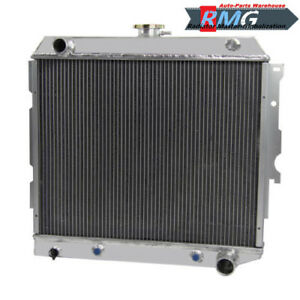 "Aluminum Radiator For Chevy II Nova 22""Core 1962-1967 1963 1964 1965 1966 3Row"