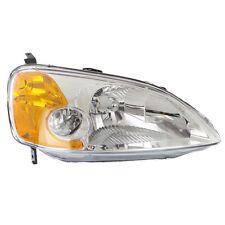 Headlight For 2001-2003 Honda Civic Coupe Passenger Side