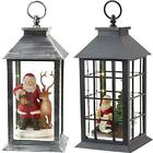 13' LED Battery-Operated Holiday Lantern, Indoor/Outdoor by Eucatus