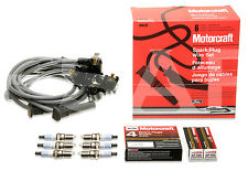 Motorcraft Spark Plug Wire Set WR-6120 & Spark Plug SP-400 FORD EXPLORER SPORT