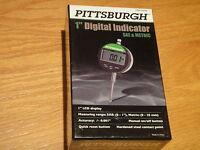 """PITTSBURGH 1"""" Digital Indicator SAE & Metric"""