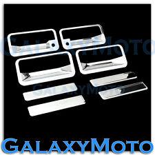 88-98 GMC C1500+C2500+C3500 Triple Chrome Plated 4 Door Handle+PSG Keyhole Cover