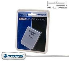 Hyperkin PS1 Memory Card (1MB) PlastationX 1 Works for PS1 games on PS1 and PS2