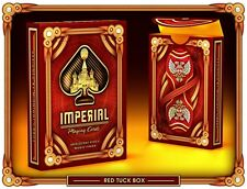 Bicycle Red Imperial Playing Cards Deck New