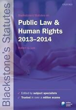 Blackstones Statutes on Public Law and Human Rights 2013-2014 (Blackstones Statu