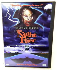 2D THE NIGHT FLIER DVD Stephen King Horror Movie 1998 Release Out Of Production!