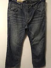 Marc Ecko Boot Cut Designer Denim Cotton Blue Jeans Men's Size 36x32