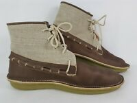 Timberland POZU Collaboration Leather Tanned Brown Mens Shoes Boots UK Size 9
