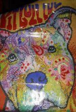 DIY Pit Bull Diamond Art (Everything Included)- 30cm x 40cm
