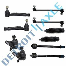 New Inner & Outer Tie Rod Lower Ball Joint Sway Bar Link End for Toyota Corolla