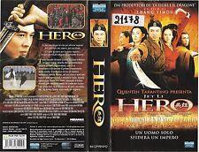HERO (2002) vhs ex noleggio