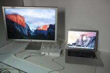"Apple 23"" Cinema Display HD Monitor A1082 2-Port USB w/DP to DVI + 90W Adapter"