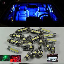 Blue 9 Lights Error Free SMD LED Interior Package Kit For VW PASSAT B5 1997-2000