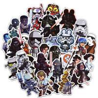 100PCS Star Wars Stickers for Luggage Laptop Skateboard Bicycle Car Superhero