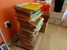 JOURNAL DE TINTIN LOT DE 30KG PLUS DE 250 MAGAZINES ETAT BE/TBE ET TBE