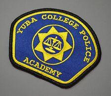 Yuba College California Police Academy Patch ++ Mint CA