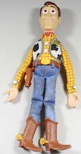 "Toy Story Sheriff Woody Pull-String Talking 15"" Doll Thinkway Disney Pixar"